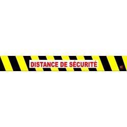 """Marquage au sol : """"DISTANCE..."""