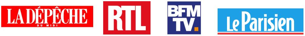 La Dépêche du Midin RTL, BFM TV, Le Parisien