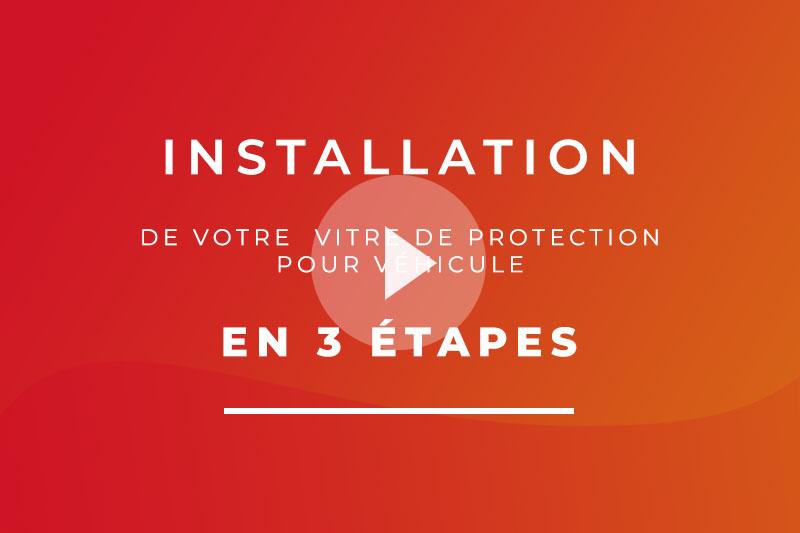 Installation en 3 étapes